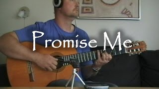 Promise me - Beverley Craven | fingerstyle guitar (with tabs)