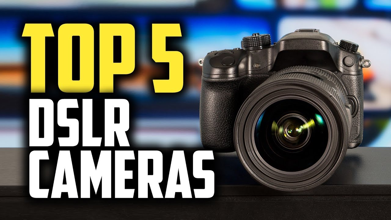 Best DSLR Cameras in 2019 | Top 5 Options For Beginners & Professionals -  YouTube