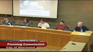 Sherwood Planning Commission - April 10, 2018