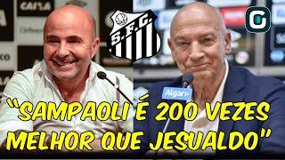"""""""Depois de 8 a 10 jogos, aí podemos cobrar algo"""", Müller sobre Jesualdo no Santos (28/01/20)"""