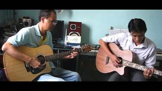 Symphony No. 40 (Mozart) Cover - Guitar duet - Tập luyện