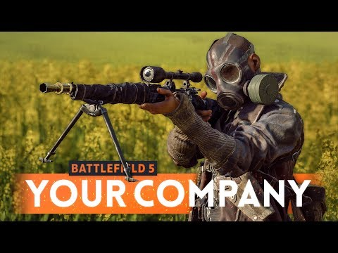 BATTLEFIELD 5: How To Upgrade And Build Your Company & Unlock New Items