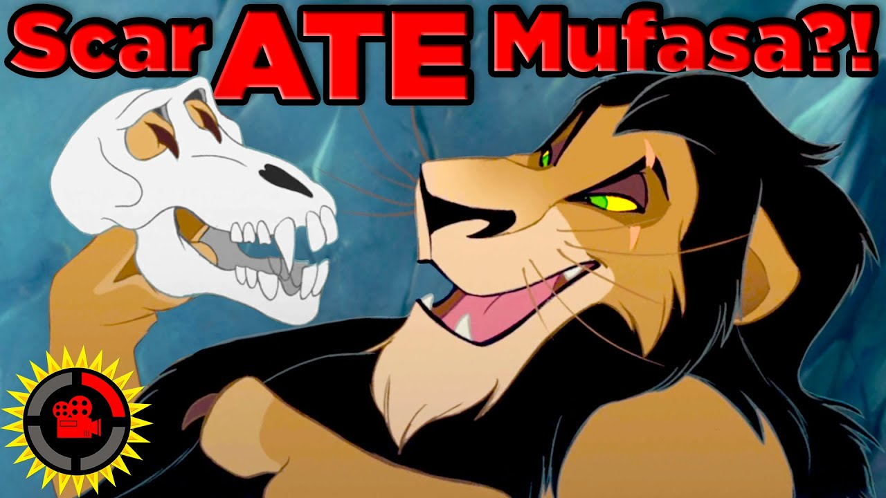 Film Theory: Did Scar EAT Mufasa? (The Lion King)