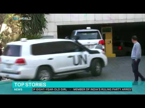 UK says OPCW inspectors denied access to Douma