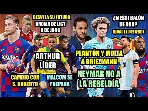 plantÓn-de-griezmann-|-neymar-sÍ-volverÁ-psg-|-futuro-de-ligt-con-de-jong-|-defienden-messi-|-arthur