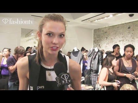 Fashion's Night Out ft Karlie Kloss Interview, Cara Delevingne at NYFW Spring 2013 | FashionTV