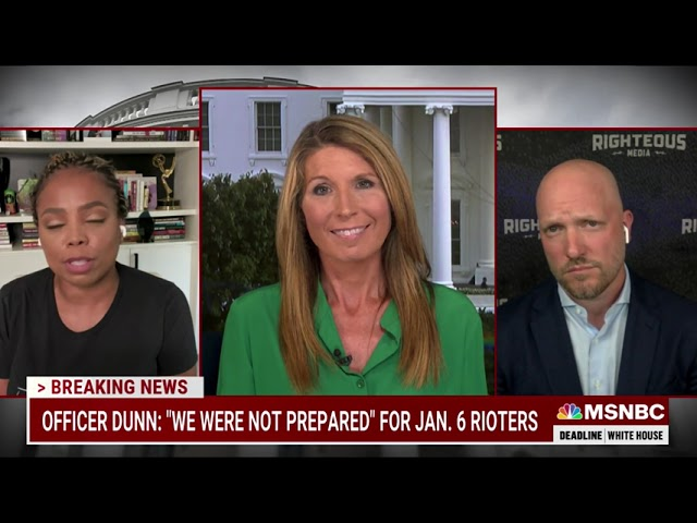 MSNBC - DEADLINE WHITEHOUSE - JULY 28, 2021: 1/6 COMMISSION HEARINGS