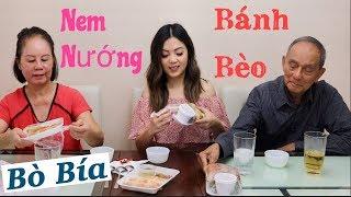 3 Thế Hệ Ăn Bánh Bèo, Nem Nướng & Bò Bía