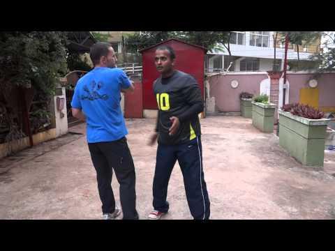 Jkd  Kali  Training to Jamie clark by Shifu Kanishka