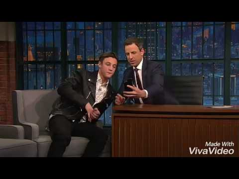 Cameron Dallas Interview Late Night Seth 3x136