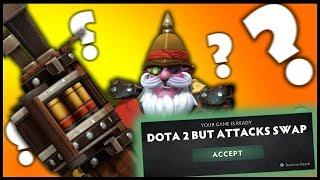 Dota 2 But Attacks Swap