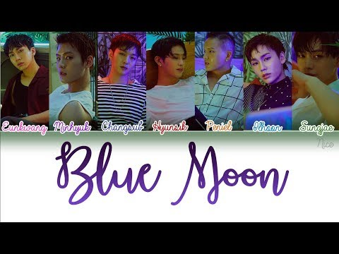 BTOB (비투비) -BLUE MOON Lyrics (Color Coded/ENG/ROM/HAN/PTBR) ‬