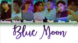 [3.65 MB] BTOB (비투비) -BLUE MOON Lyrics (Color Coded/ENG/ROM/HAN/PTBR) ‬