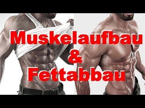 Gleichzeitig Muskelaufbau und Fettabbau