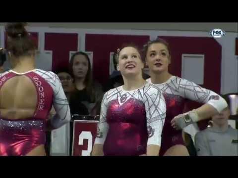 College Gymnastics - 2018-02-23 - Oklahoma vs West Virginia