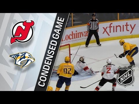 New Jersey Devils vs Nashville Predators – Mar. 10, 2018 | Game Highlights | NHL 2017/18. Обзор