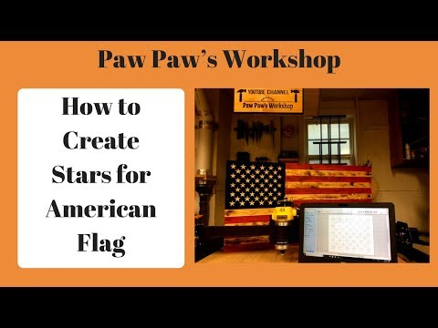 How To Design Stars For American Flag