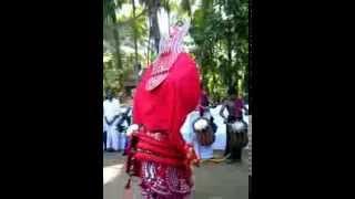 THEYYAM..Poomaruthan Daivam at Kannapuram Poomaala Bhagawathy Kshethram