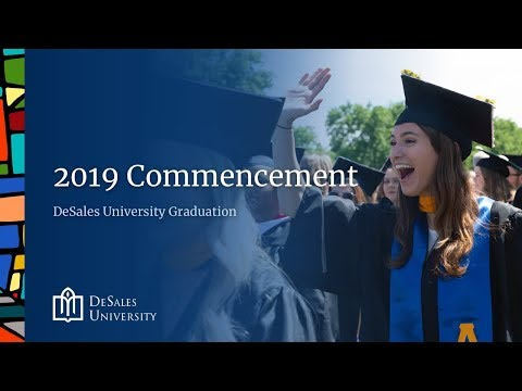 DeSales University Class of 2019 Commencement