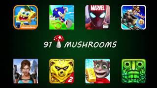 SpongeBob Vs Sonic Vs Spider-Man Vs Rail-Rush Vs Lara Croft Vs Spirit Run 2 Vs Tom Vs Temple Run 2
