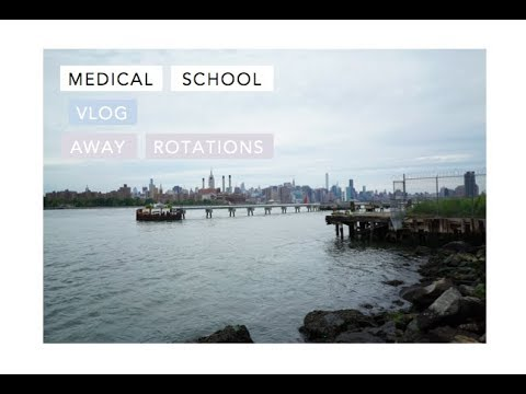 A Day in the Life of Medical Student | Away Rotations in NYC + Air bnb Tour!