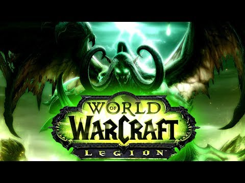 Играем в  World of Warcraft Legion на Офе