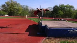 Kenny Hosp High Jump Practice