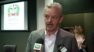 Comissão de Economia recebe Henry Quaresma