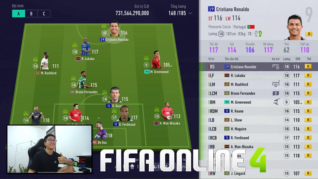 FIFA ONLINE 4: TRẢI NGHIỆM HÀNG KHỦNG Man Utd +8 & BUILD TEAM Bayern Munich 8 TỶ KHỦNG NHẤT TẦM GIÁ