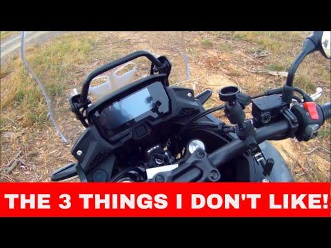 2019 HONDA CB500X - 3 Things I Don't Like On The Bike!