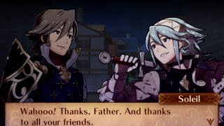 Fire Emblem Fates English - Paralogue 21: Bright Smile (Soleil)