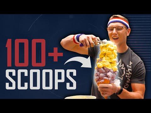 World's Biggest Ice Cream Cone (World Record) | FOOD FEATS
