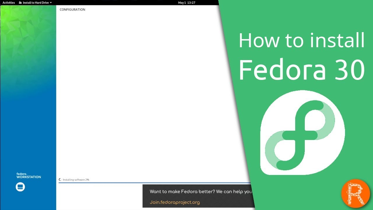 How to install Fedora 30
