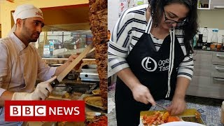 Syrians in Brazil: 'I am not a millionaire, but I will be' - BBC News