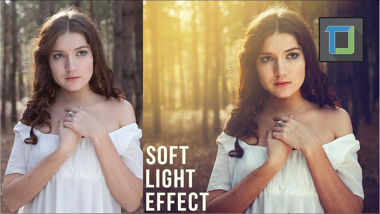 Soft warm light effect photoshop tutorial photo effects youtube baditri Gallery