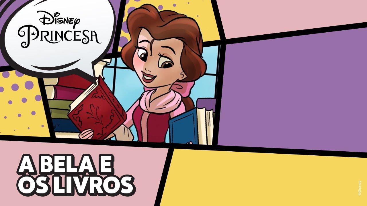Bela | A Bela e os Livros | Disney Princesa