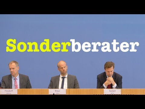 24. September 2018 - Bundespressekonferenz - RegPK