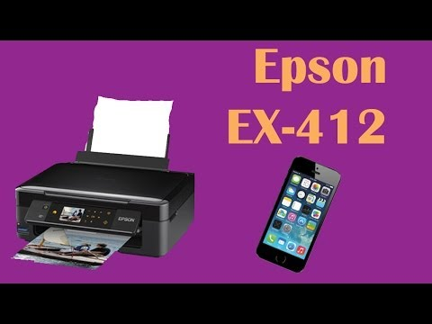 how to connect epson printer to wifi on iphone