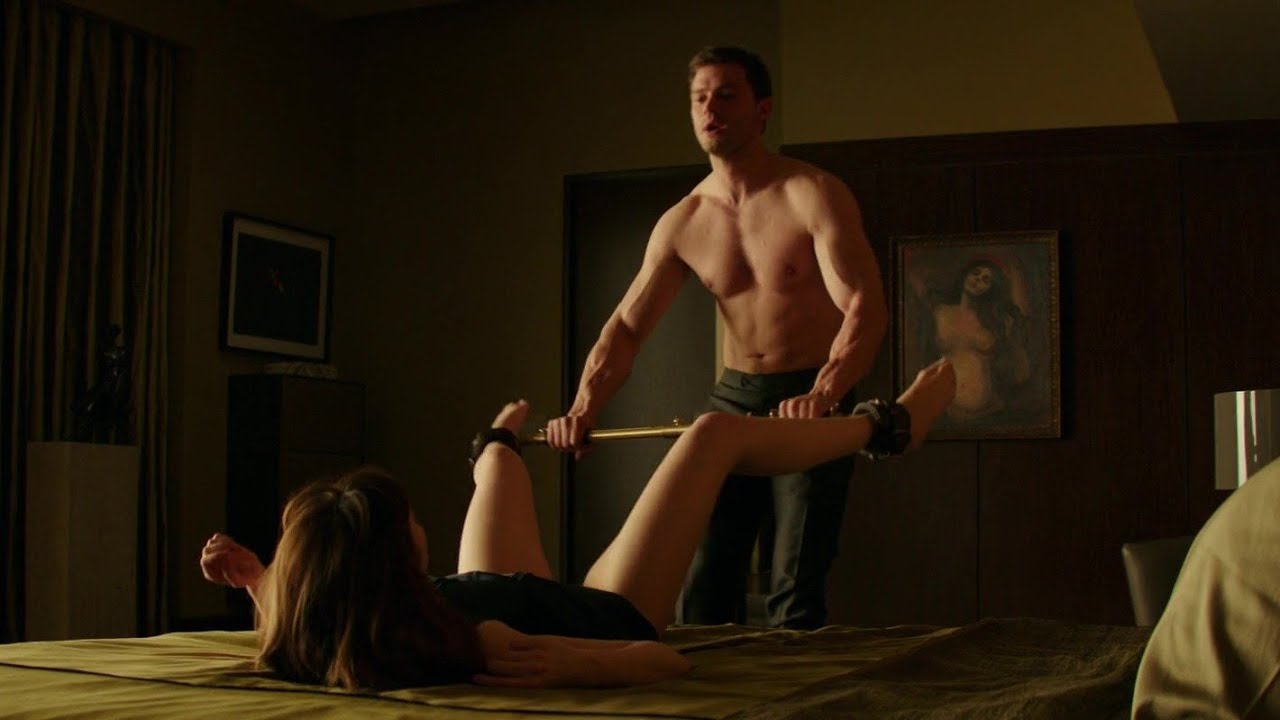 Fifty shades sex scenes are shot with a wee bag, jamie dornan says