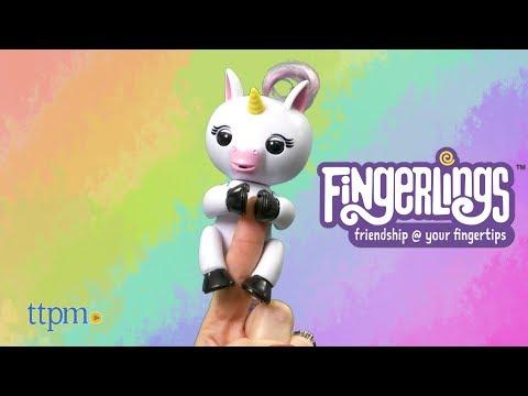 Fingerlings Baby Unicorn from WowWee
