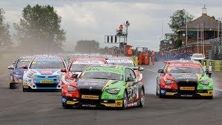 2014 Dunlop MSA British Touring Car Championship - highlights from Croft