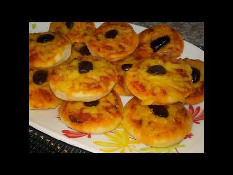 مطبخ ام وليد اسهل ميني بيتزا