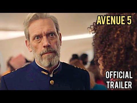 Пятая авеню / Avenue 5 | Официальный трейлер (Сериал, 2020) Хью Лори