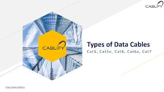 Types of Data Cables - cat 5 vs cat 6 vs cat 7