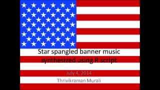 USA National Anthem using R script
