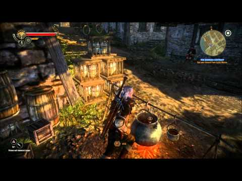 Let's Play The Witcher 2 - Part 28: Back in Town