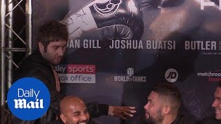 Jay from Inbetweeners gatecrashes Haye v Bellew press conference - Daily Mail