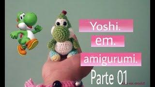 Yoshi Häkel Anleitung Part 1 Do It Yourself Amigurumi