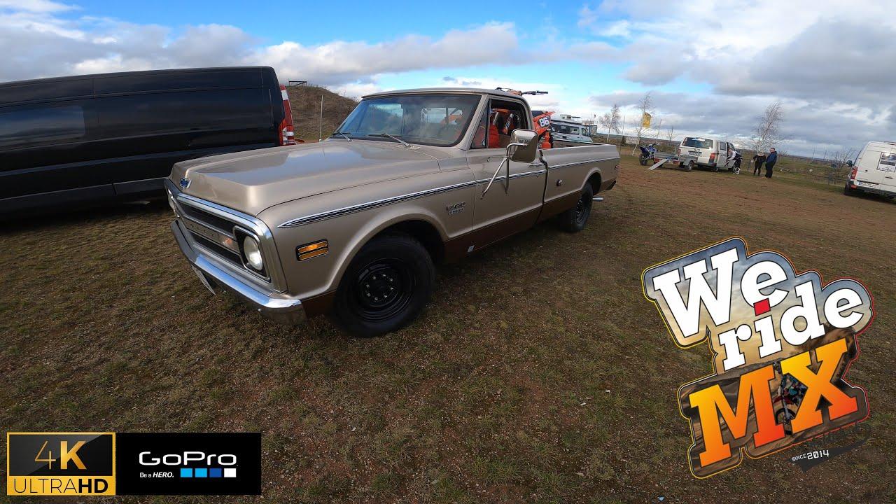 Mitten im Winter mit dem alten Chevy an die Strecke! - We ride MX VLOGS Ep 2