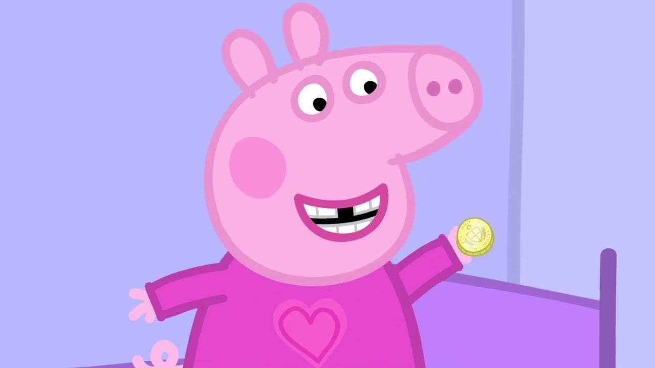 peppa pig english episodes peppa and the toothfairy